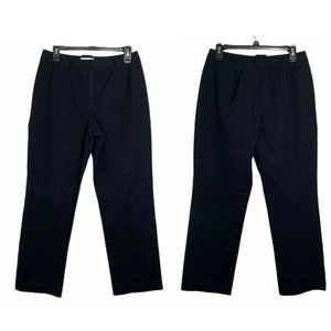 St. John Sport -Cotton Blend Stretch Pants